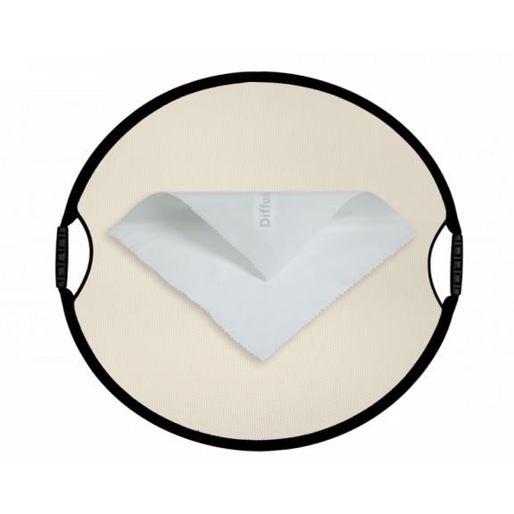 丸レフ板サンムーバー(84×77cm)◇ディフューザー2/3